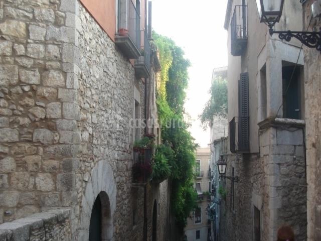Barrio judío en Gerona