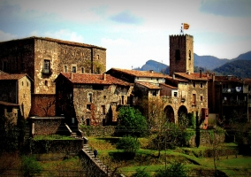 Santa Pau de Olot, una arquitectura única