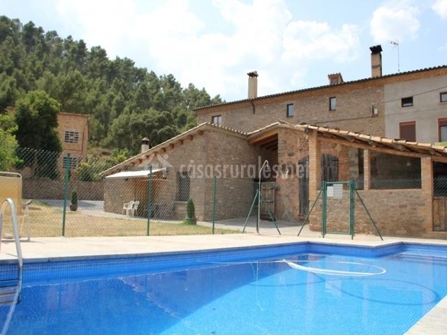 Els plans de cornet en sallent barcelona - Casa rural piscina interior ...