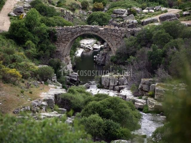 Puente Romano Matrimonio : Las casas de isabel casa eusebio y candelas en san
