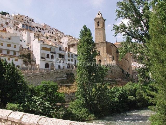 Casa la arbequina casas rurales en alcala del jucar albacete - Casas alcala del jucar ...