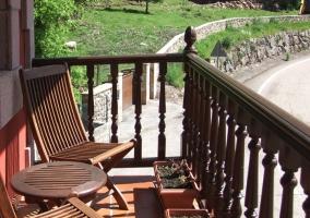 Balcón con vistas del entorno
