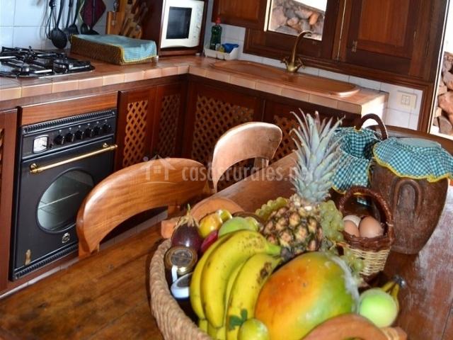 Casa de mi abuela mar a en frontera el hierro - Fruteros de cocina ...