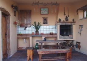 Bano  de la casa rural