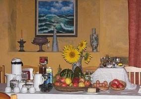 Interior comedor