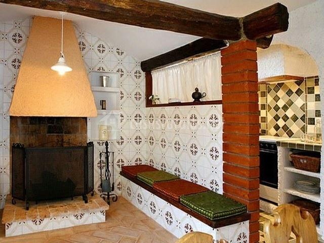 La ginesta en canyelles barcelona - Casa rural con chimenea en la habitacion ...