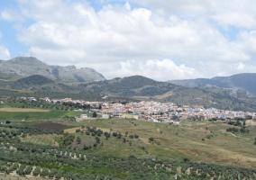 Vista de todo el pueblo Villanueva de la Concepción