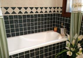 Bañera del baño principal