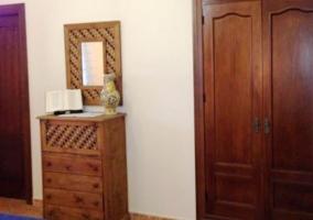 Mobiliario en el dormitorio