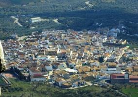 Vista elevada de Villanueva de la Concepción
