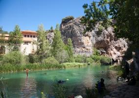 Piscina naturales en Villalba de la Sierra