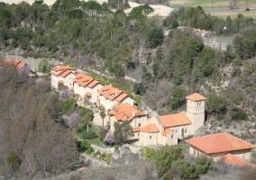 Vista aérea de Villalba de la Sierra