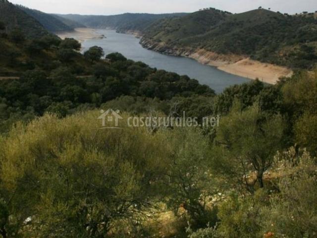 Zona de paisajes de la Sierra