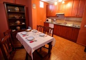 Madroño comedor y sala de estar
