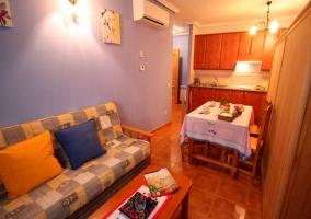Mirto sala de estar comedor y cocina en el mismo espacio