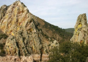 Zona natural escarpada