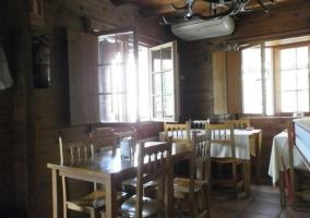 Restaurante en madera
