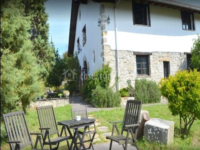 Zona de terraza con sillas