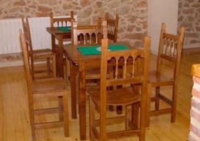 Mesas con tapete