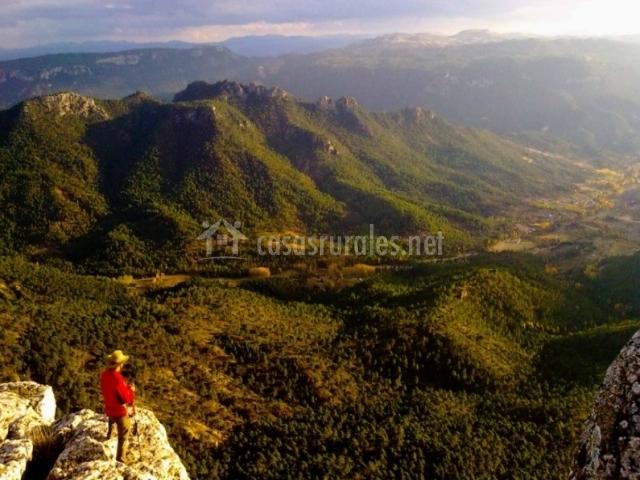 Mirador sobre el valle
