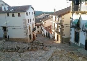 Vista de las calles de Candelario