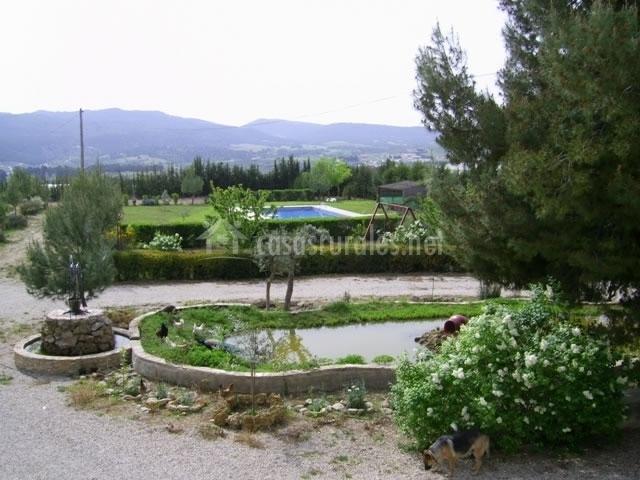 Pantanero i en caravaca de la cruz murcia for Casa jardin murcia