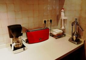 Pequeños electrodomésticos de la cocina