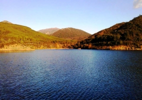 Lago de los Montes de Toledo