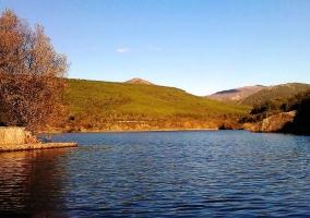 Lago del entorno
