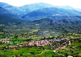 Panorámica de la comarca