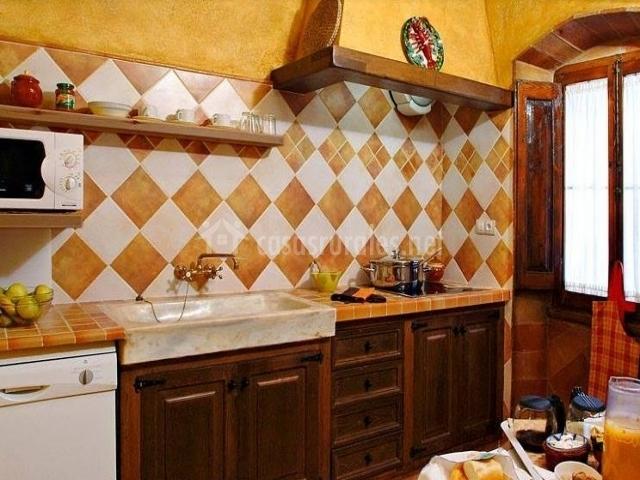 Cocina comedor de la casa