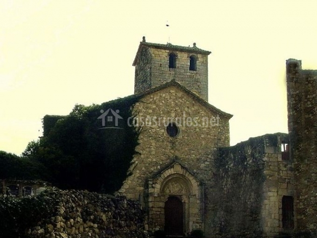 Zona del monasterio de San Sebastián