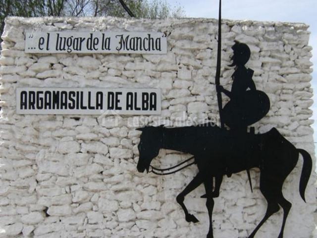 Zona de recuerdo al El Quijote