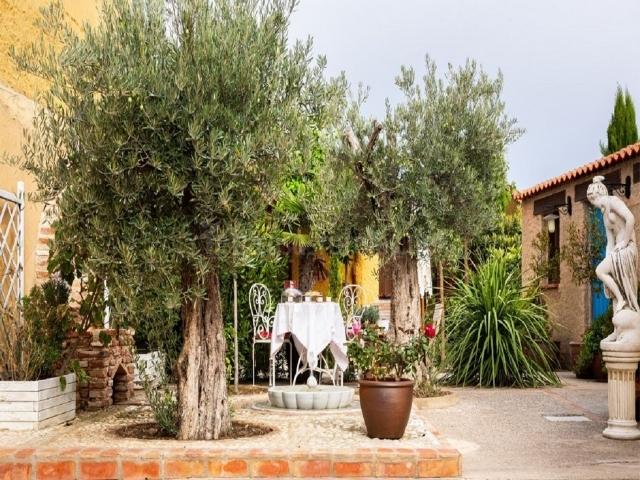 Pozo Decorativo Jardin Piedra