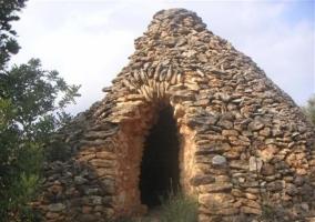 Refugio de pastores cerca del alojamiento rural