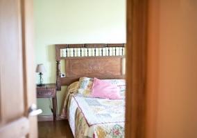 Dormitorio muy elegante