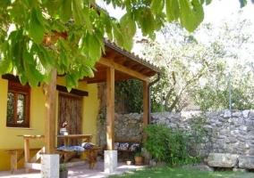 Jardín y mobiliario de El Hidalgo