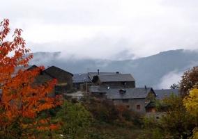 Las casas entre la naturaleza