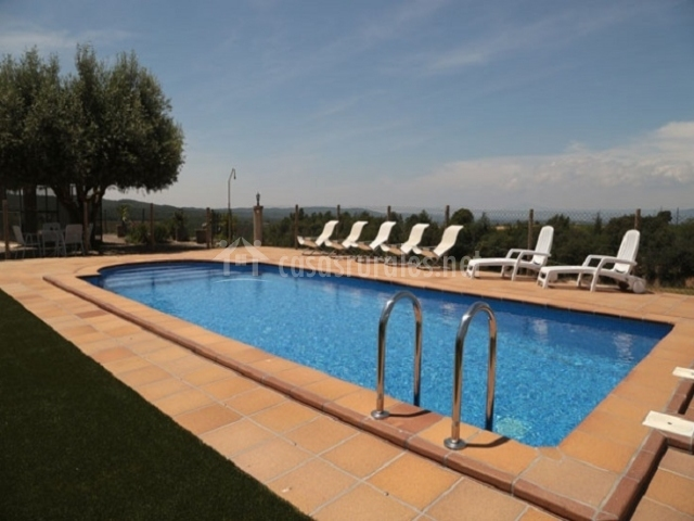 Casa ventoldra casas rurales en castellar de la ribera lleida - Casas rurales lleida piscina ...