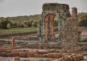 Cáparra, villa romana