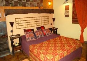 Dormitorio y entrada al jacuzzi