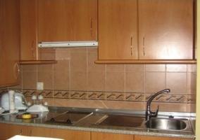 Ampliación de la cocina con vitrocerámica