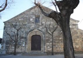 Iglesia gótica de Nuestra Señora de la Asunción en la localidad de Candeleda