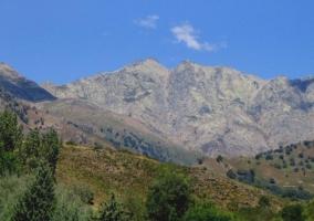 Vista del Pico Almanzor que es el más alto de la Sierra de Gredos