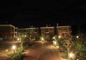Entorno de los alojamientos de noche