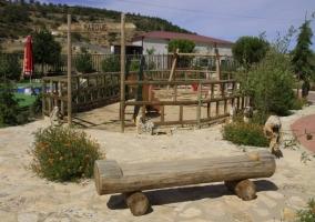 Parque infantil incluido en el complejo