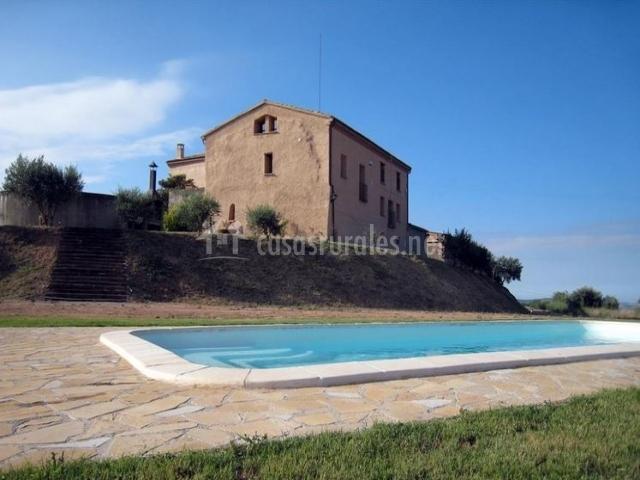 Casa dels masovers en montmagastre lleida - Casas rurales lleida piscina ...