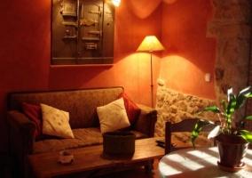 Sala de estar de la buhardilla