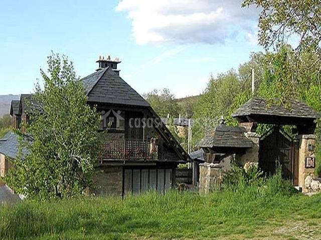 Casa del Cura en Rozas (Zamora)