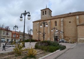 Plaza de la Iglesia en El Provencio